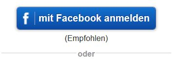 Login per Facebook-Connect